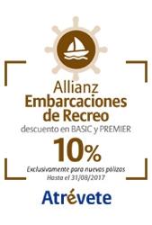 10% de descuento en Seguros para Embarcaciones de Recreo